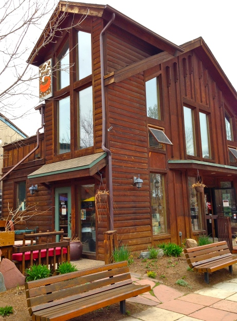 One of my favorite coffee shops (Estes Park, CO)